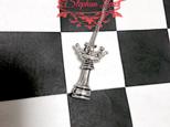 (再販)★Stephan Lea★クイーンのチェスペンダント55cmの画像