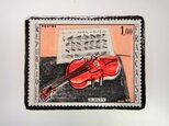 フランス1965年 デュフイ切手ブローチ3236の画像