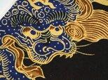 和柄トートバック(唐獅子)の画像