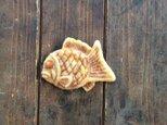 鯛焼ブローチの画像
