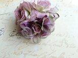 rose corsage (モーヴピンク×パープル)の画像
