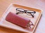スリムなメガネケース カラーオーダーの画像