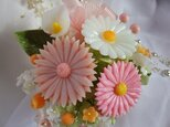 石鹸の春花あそび。ソープカ―ビングの画像