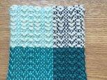 手織りコースターの画像
