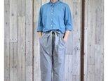 ¥2000-OFF bansyuori cotton/linen wide shirt コットン/リネン ワイドシャツの画像