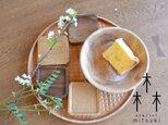【受注製作】【再々々々販】ラウンド トレイ - 格子 -  ko-shi round tray 0014 松の画像