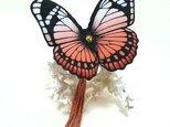 蝶のかんざし(大)の画像
