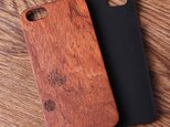 受注生産 iPhoneケース 木製ケース 天然木 木目調 ウッドケース 無垢材 高級 大人の画像