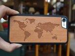 iPhoneケース 木製ケース 天然木 木目調 ウッドケース 無垢材 高級 大人の画像
