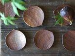 栗の豆皿の画像