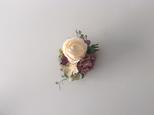 コサージュ『roseとcarnation』/cpの画像