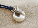 ベルーガ(白イルカ)の鈴 銀製(シルバー925)の画像