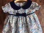 ダッフィーサイズのお洋服 小花ワンピースの画像