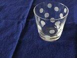 KIRIKO グラスミニ 水玉の画像