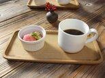 ホオノキのカフェトレイの画像