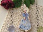 ドレスのお嬢様ウサギちゃんの画像