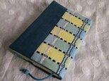 手織りブックカバー/吉野織りの画像