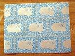 U.S.A. ヴィンテージ包装紙【アイボリーキャット】DA-WP015の画像