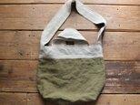 K様専用販売ページ linen reversible bag : olive :の画像