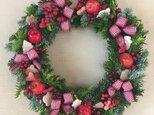 〈M様専用〉フレッシュクリスマスリースの画像