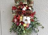 サンキライのクリスマススワッグの画像