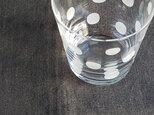 KIRIKO グラスオールド 水玉の画像