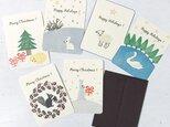 seasonal mini message card  (2枚組)の画像