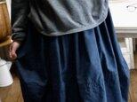 正絹100反物からバルーンスカートの画像