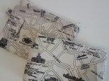 【お買い得‼】Map ポーチ&フラットポーチセットの画像