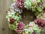 Dahlia Wreath ~ダリアのリース~ 33cmの画像