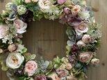 Wreath ~rose~ 39cmの画像