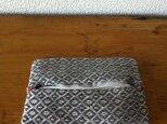 手織り ティッシュケース TCa-graの画像
