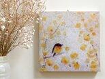 春の18cm panel・ロウバイの画像