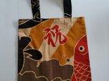 和柄トートバック(大漁旗)弐の画像