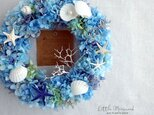 Summer Wreath ~Little Mermaid~ 25cm(プリザ)の画像