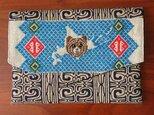 北海道とキムンカムイの御朱印帳袋(ベージュ)の画像