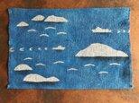 藍棒染めティーマット 島と海の画像