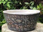Kakiotoshi large bowl -夜明けの森の画像
