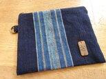 古い木綿を遊ぶ小さなポーチ(参)の画像