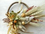 雑穀と草穂 ミニリースの画像