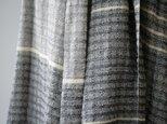 絹紡糸,アルパカx 真綿シルクストール sj180706の画像