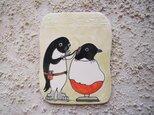タイルの動物図鑑 アデリーペンギンの画像