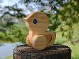 ヒヨコの木製玩具♪ ヒノキの画像
