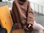 【受注製作】カシミアトップス・セーター ニット オーダーメイド 豊富な色 LH 4235の画像