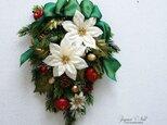 クリスマスワッグ ~Christmas Swag~ 29X23 造花の画像