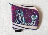 型染め 財布「人魚の夢」の画像