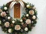 クリスマスリース(0919)~Santa's Magic Key(R)~ 33x35cmの画像
