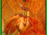 羽根のイヤーカフ(右耳用)の画像