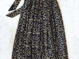 ウールモスリン・ クローバーエンブロイダリー・ロングスカートの画像