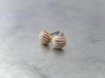 ピアス petit stripe/goldの画像